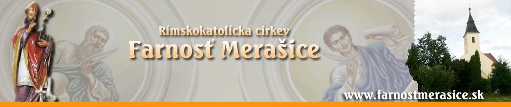 Farnosť Merašice